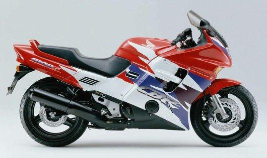 Bild Honda CBR1000F SC24 von Tattoomoko