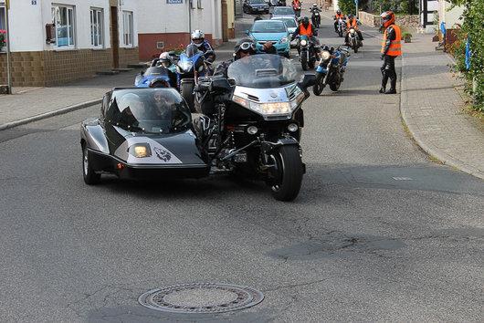 Bild honda Goldwing  GL1500 Hannigan sidecar von westau