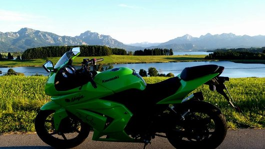 Bild Kawasaki Ninja 250r von Mona Erh