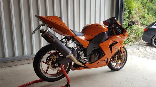 Bild Kawasaki ZX10R von Franke