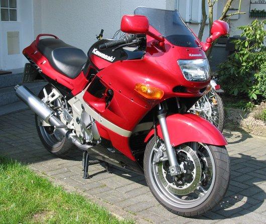 Bild Kawasaki ZZR600 von Motorradmetre