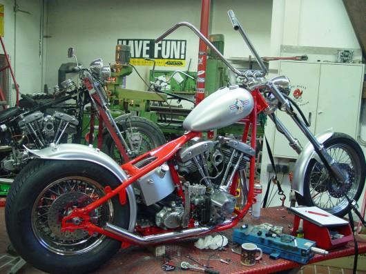 Bild Harley Davidson Shovelhead von