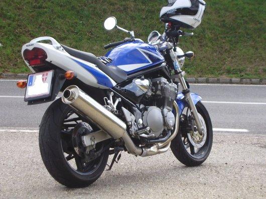 Bild SUZUKI GSF Bandit 600 von bluebandit