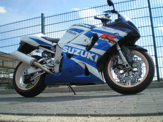 Bild Suzuki  GSX-R 750 von Alpentier