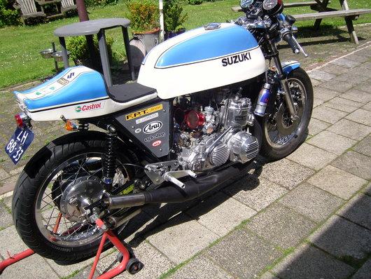Bild Suzuki GT750 von Ron Moolenaar