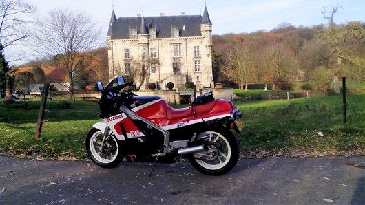 Bild Suzuki RG500,GT750,TR750,GSXR1100 von Ron Moolenaar