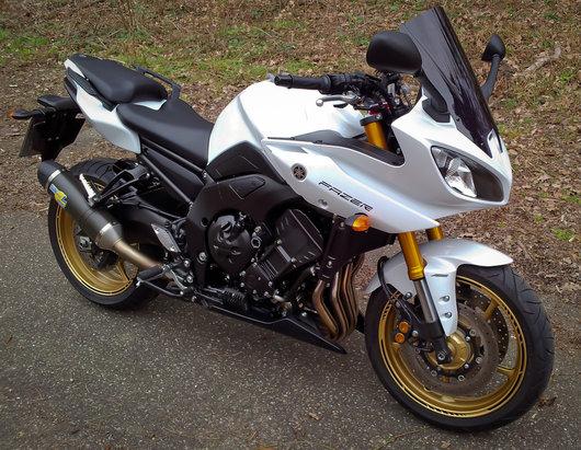 Bild Yamaha FZ8 Fazer von Mitcher