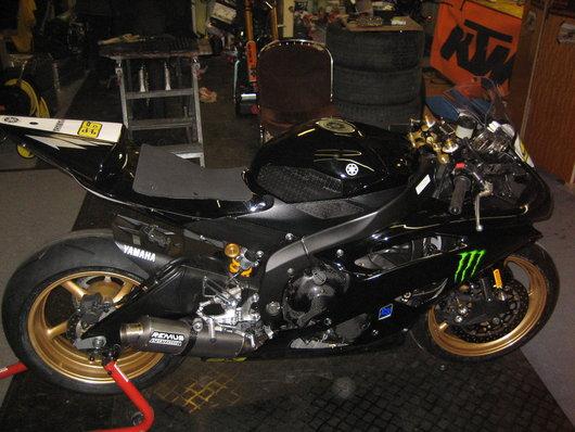 Bild Yamaha R6 - Rj.155 von Chri 93