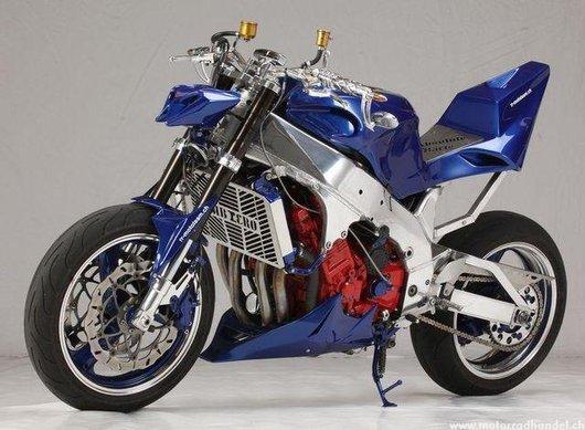 Bild YAMAHA  YZF 750 R Streetfighter von rr-mototeam