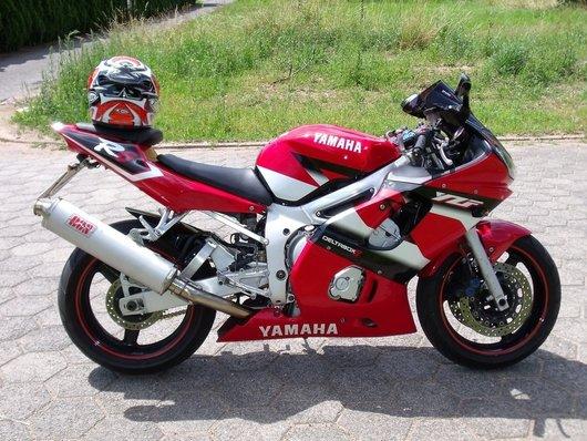 Bild Yamaha YZF R6 von dasmozeros